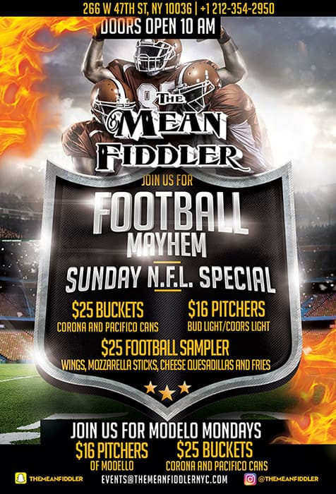 MF_NFL_New-min Times Square Private events, Sports & Party Bar - The Mean Fiddler